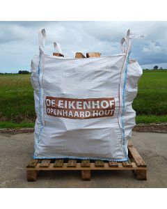 Haardhout Eiken 320 kg (Big Bag los gestort)